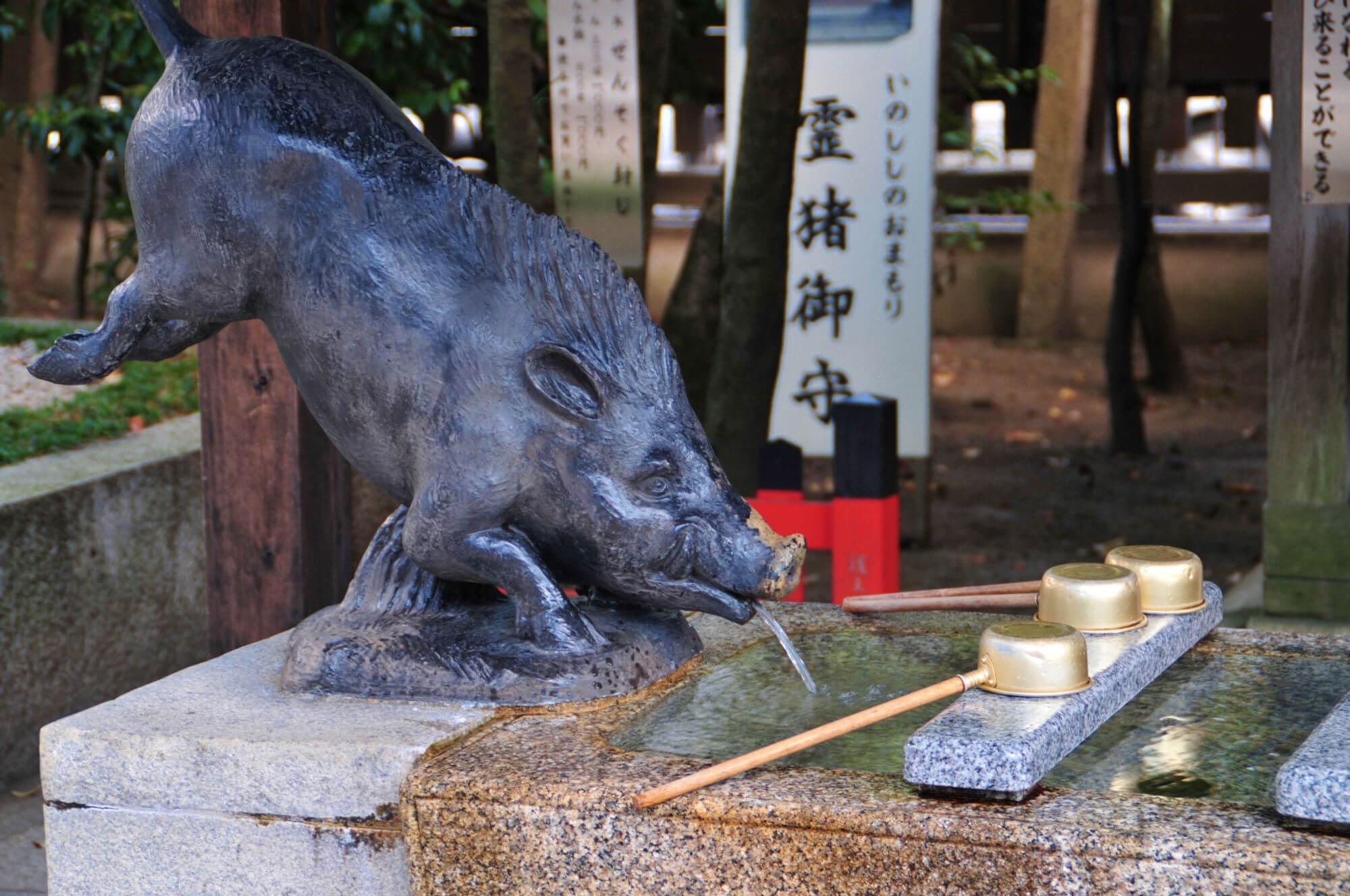 京都のパワースポット護王神社3