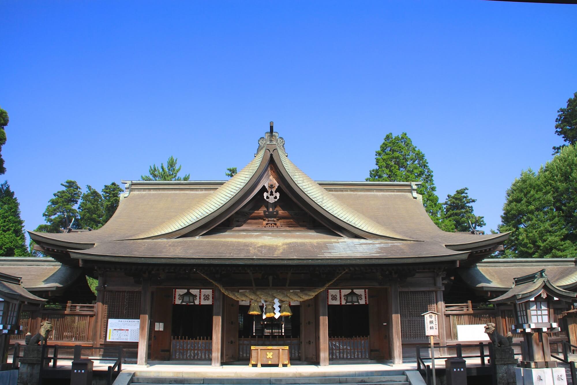 熊本でおすすめのパワースポット1