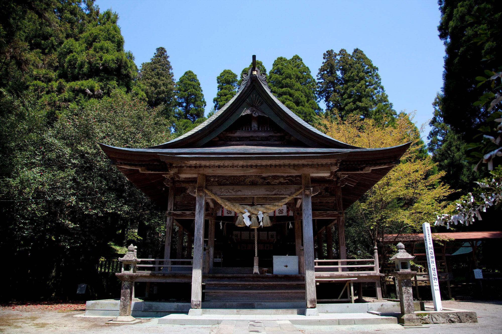 熊本でおすすめのパワースポット2